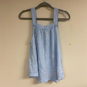Free People Tops - Good For You Sky Blue Tank